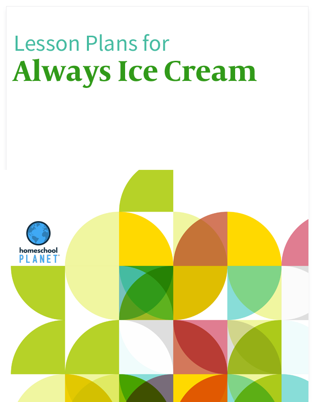 Homeschool Planet Always Ice Cream lesson plans button