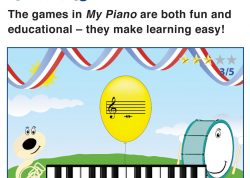 Games in My Piano make learning easy