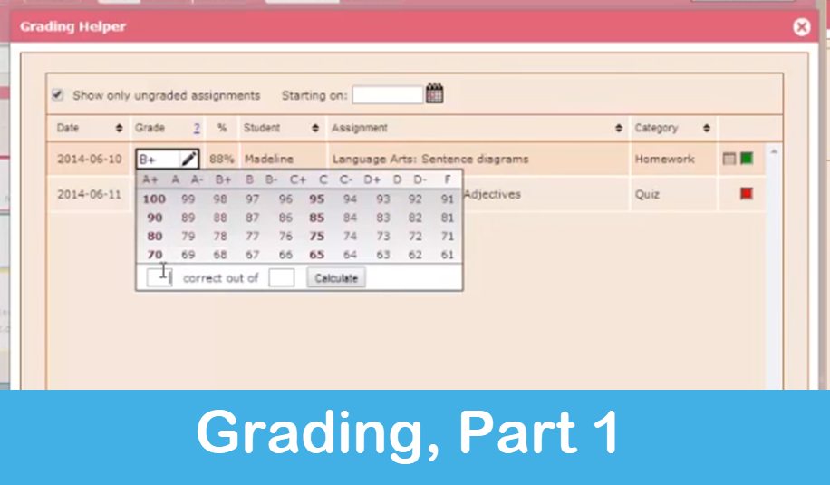 Homeschool Planet Lesson Plan Grading Park 1 screenshot button
