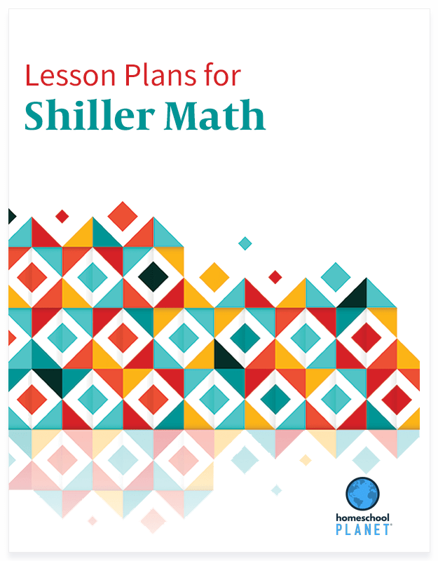 Homeschool Planner Shiller Math lesson plan button