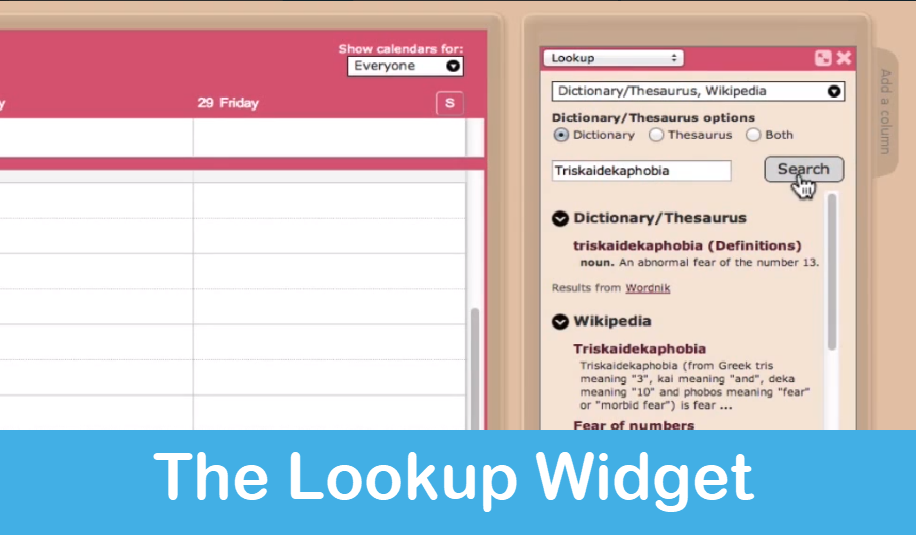 Homeschool Planet Lesson Plan Lookup Widget screenshot button