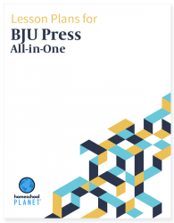 BJU Press All In One Lesson Plan Family