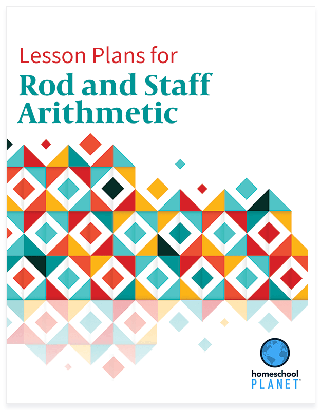 Homeschool Planner Rod and Staff Arithmetic lesson plan button