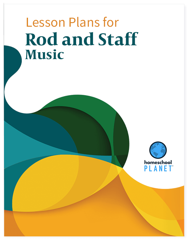 Homeschool Planet Rod and Staff Music lesson plan button
