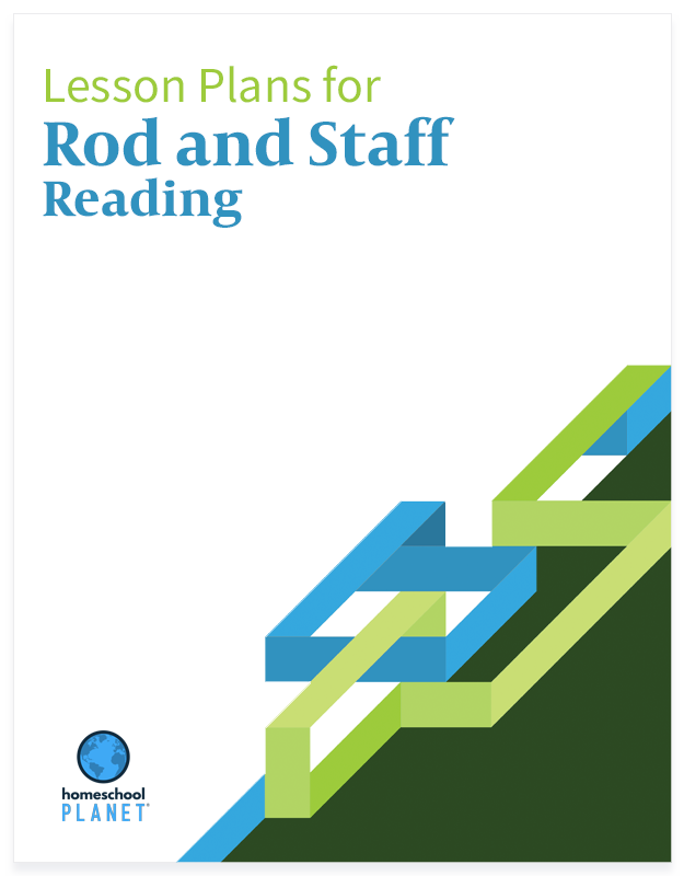 Rod and Staff Reading lesson plan button for homeschool planet