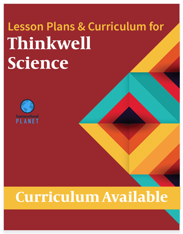 Homeschool Planet Thinkwell Science lesson plans and curriculum button