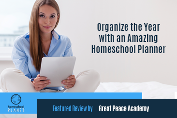 Homeschool Planet review by Great Peace Academy button