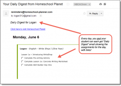 Homeschool Planet Write Shop Daily Digest button