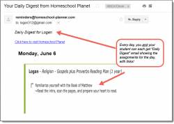 Homeschool Planet Bible Reading Daily Digest button