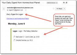 Homeschool Planet Fallacy Detective Daily Digest button