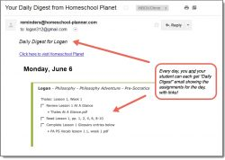 Homeschool Planet Philosophy Adventure Daily Digest button