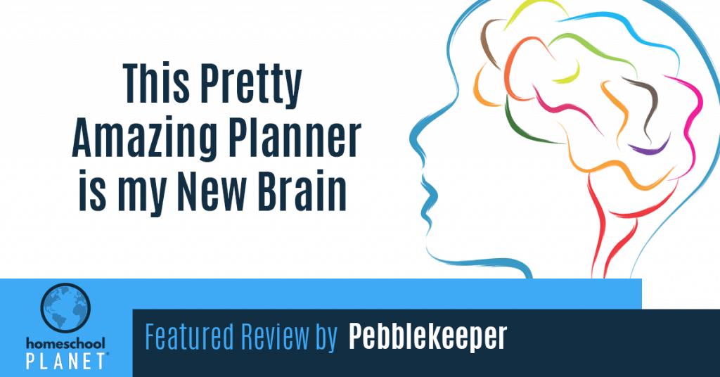 Homeschool Planet review by Pebblekeeper Blogspot button