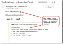 Homeschool Planet Well-Ordered Language Daily Digest button