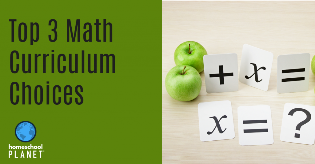 Homeschool Planet Math Curriculum Choices Blogspot button