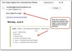 Homeschool Planet Dave Raymond's History Daily Digest button