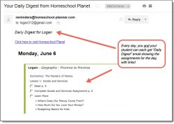 Homeschool Planet Province to Province Daily Digest button