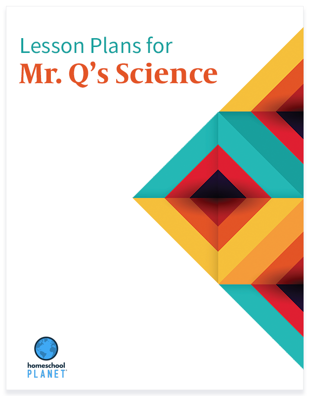 Homeschool Planner Mr. Q's Science lesson plans button