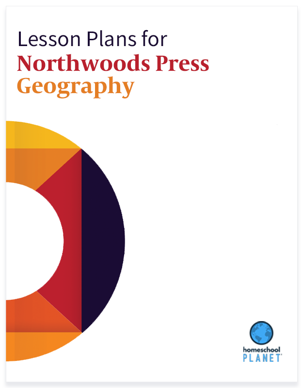 Homeschool Planet Northwoods Press Geography lesson plans button