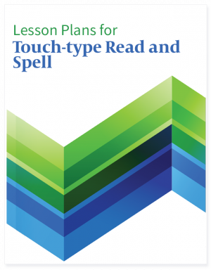 Homeschool Planet Touch-Type Read and Spell lesson plans button