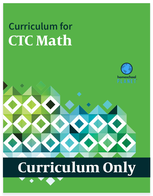Homeschool Planet CTC Math curriculum button