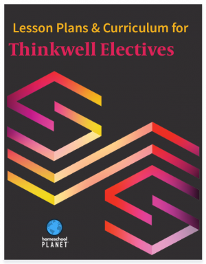 Homeschool Planet Thinkwell Electives lesson plans and curriculum button