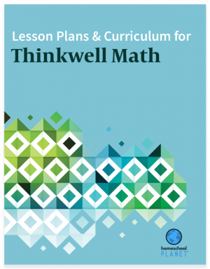 Homeschool Planet Thinkwell Math lesson plans and curriculum button