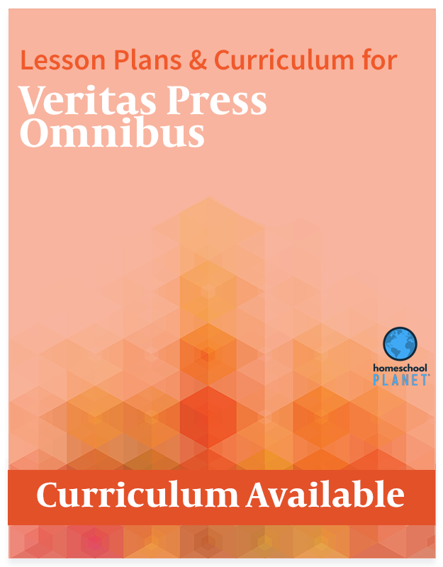 Homeschool Planet Veritas Press Omnibus lesson plans and curriculum button