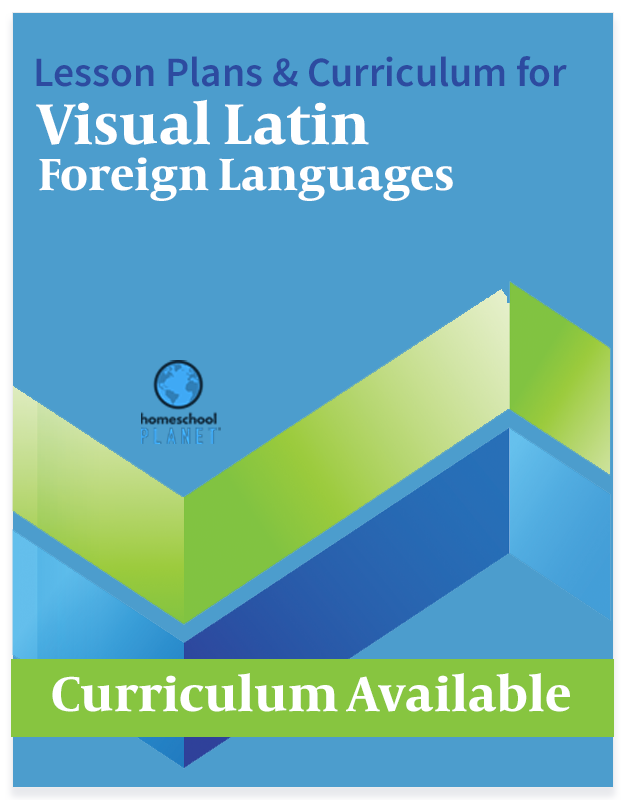 Homeschool Planet Visual Latin Foreign Languages lesson plans and curriculum button