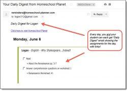 Homeschool Planner Shakespeare Daily Digest button