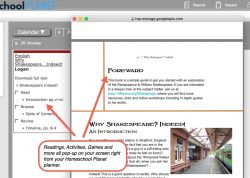 Why Shakespeare... Indeed pop-up view button