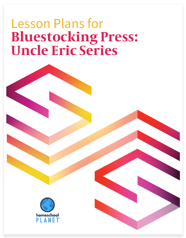 Homeschool Planet Bluestocking Press: Uncle Eric Series lesson plans button
