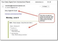 Homeschool Planet Song School Latin Daily Digest button