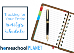 Homeschool Planet - Tracking for your entire family's schedule