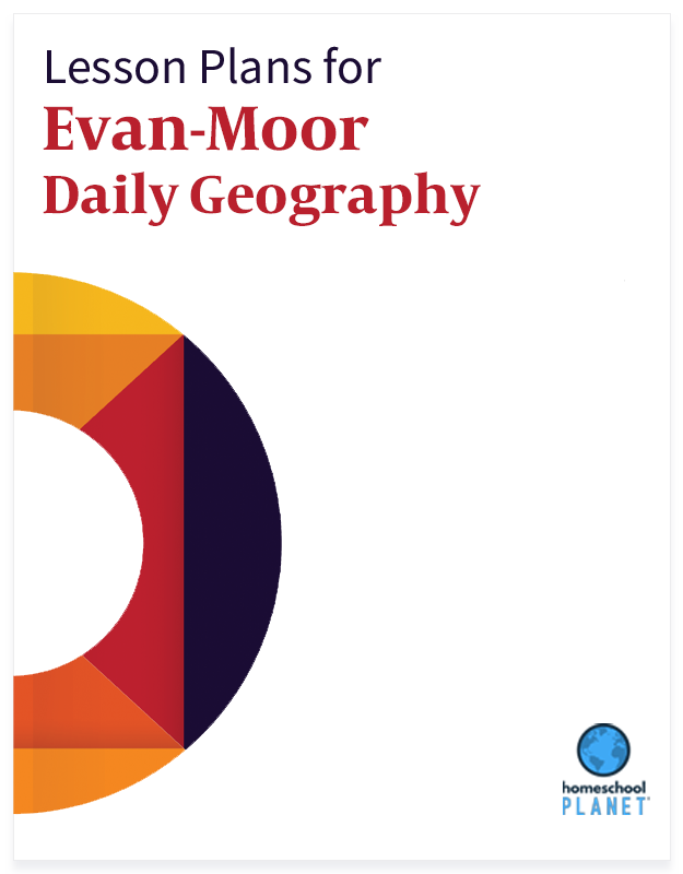 Homeschool Planet Evan-Moor Daily Geography lesson plans button