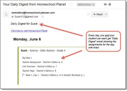 Homeschool Planet Evan-Moor Daily Science Daily Digest button