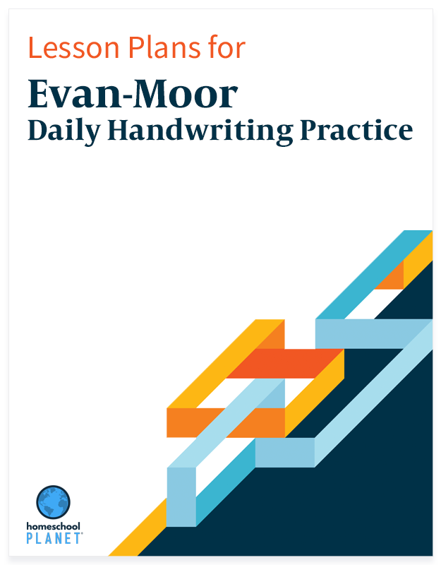 Homeschool Planet Evan-Moor Daily Handwriting Practice lesson plans button