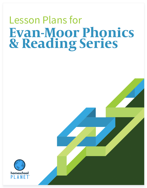 Homeschool Planet Evan-Moor Phonics & Reading Series lesson plans button