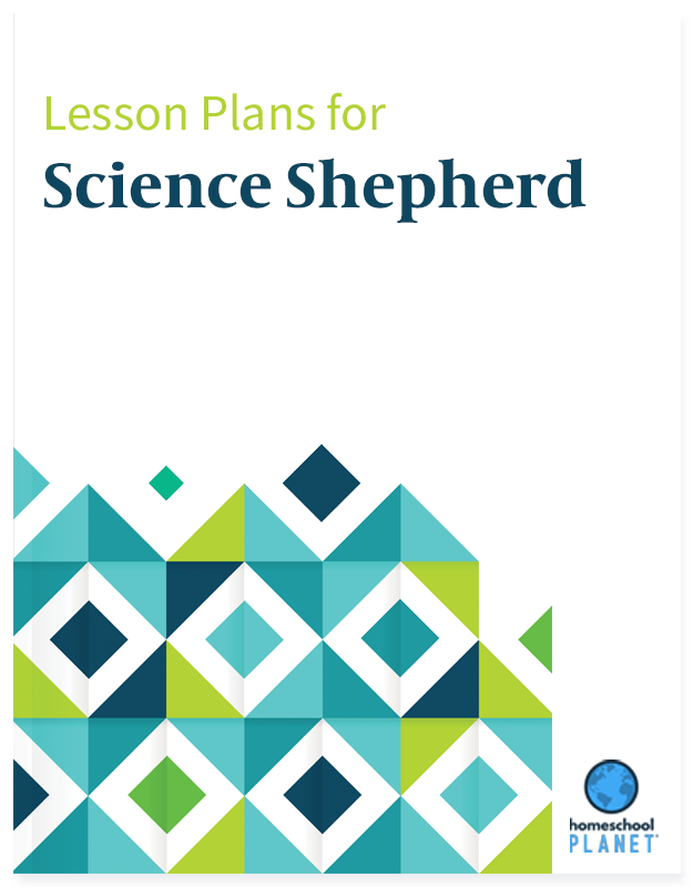 Homeschool Planner Science Shepherd lesson plans button