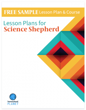 Homeschool Planet Science Shepherd Free Sample lesson plans button