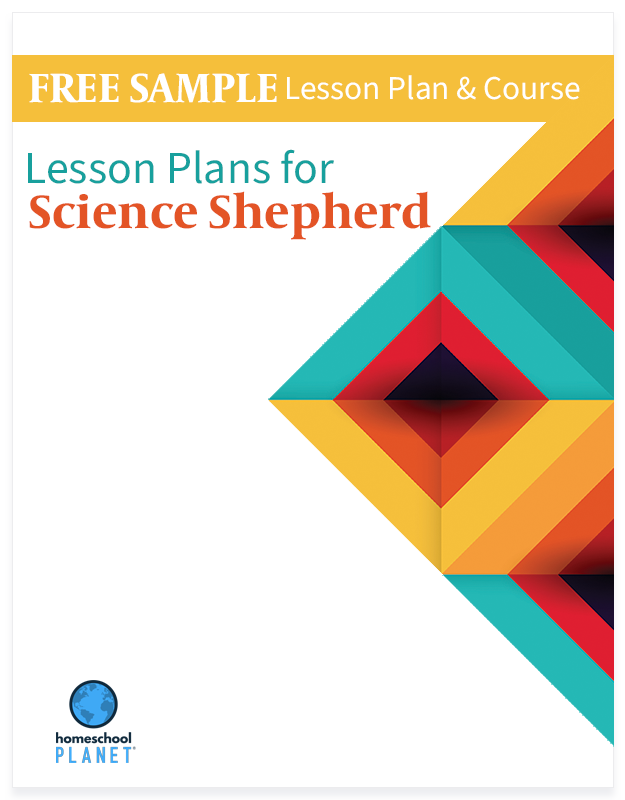 Homeschool Planet Science Shepherd Free Sample lesson plans button