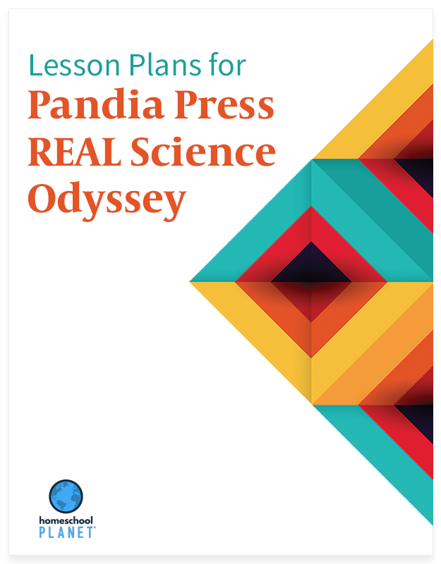 Homeschool Planner Pandia Press REAL Science Odyssey lesson plans button