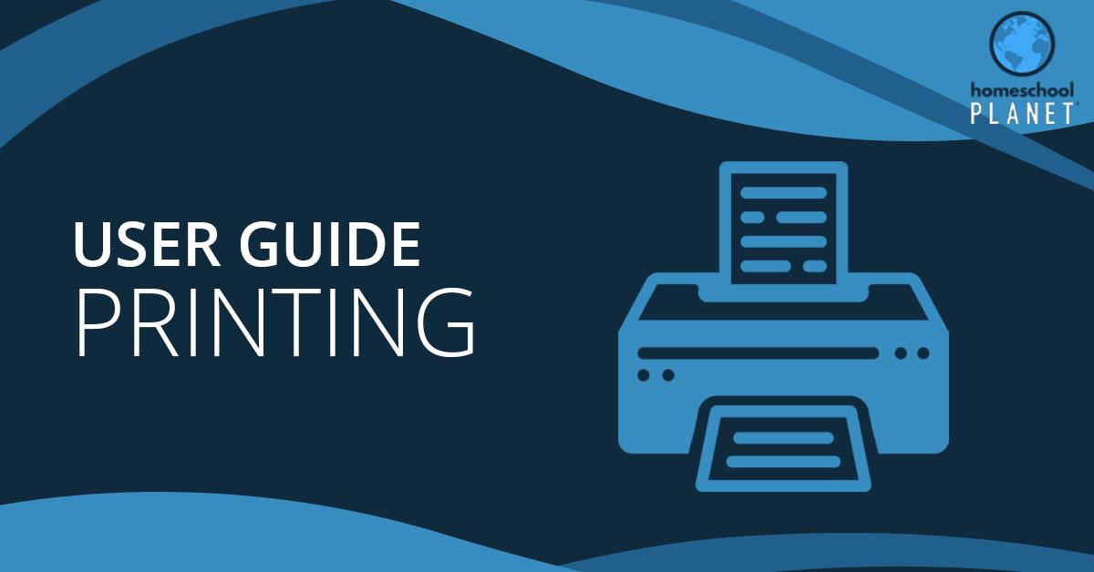 Printing Resource Lists