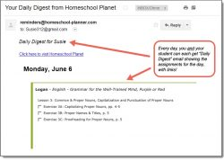 Homeschool Planet WTM Grammar Daily Digest button