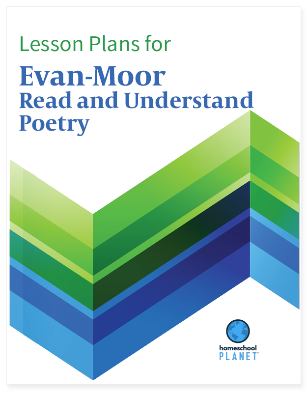 Homeschool Planner Evan-Moor Read and Understand Poetry lesson plans button