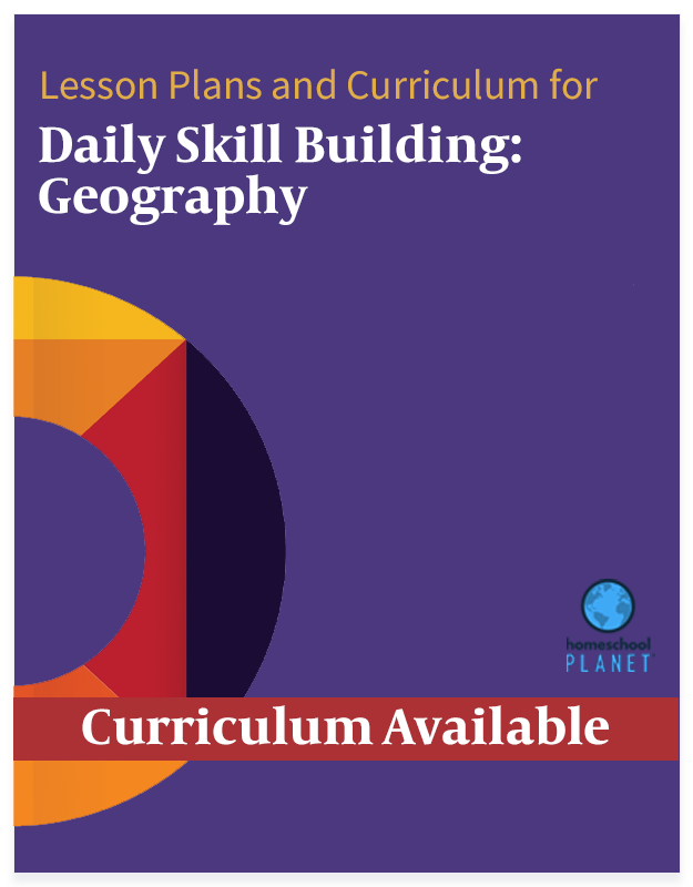 Homeschool Planner Daily Skill Building: Geography lesson plans and curriculum button