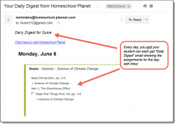 Homeschool Planet Climate Change Daily Digest button