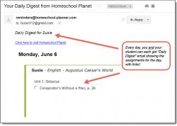 Homeschool Planet Genevieve Foster Books Daily Digest button