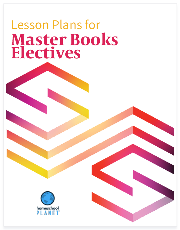 Master Books Electives lesson plan button for Homeschool Planet