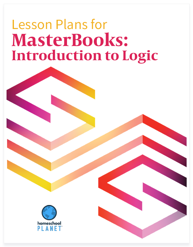 Homeschool Planet Masterbooks: Introduction to Logic lesson plans button