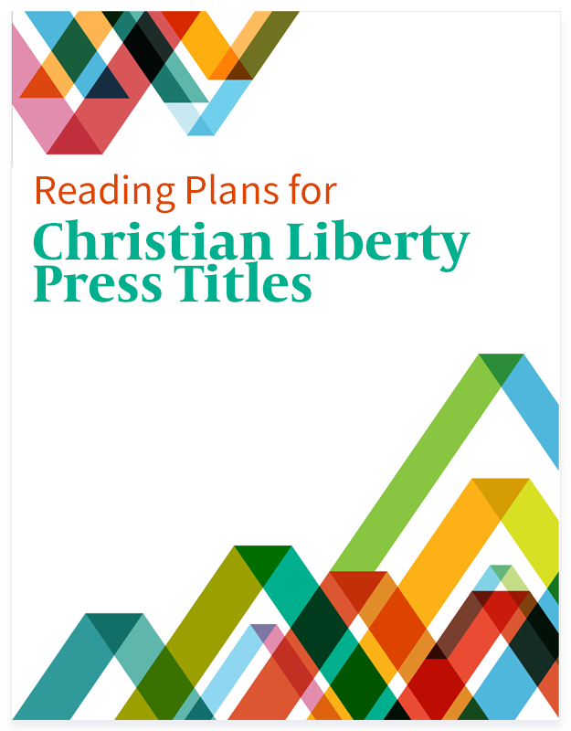 Christian Liberty Press Titles Reading Plans button for Homeschool Planet